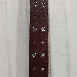 "Brown Leather Belt 31"""